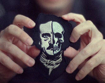 Edgar Allan Poe embroidered patch