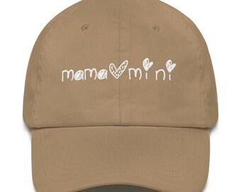 Mama + Mini Logo Dad hat