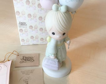 Vintage Precious Moments You Are My Main Event Figurine 115231 - Signed RARE