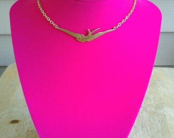 Gold Sparrow Choker Gold Sparrow Choker Necklace Chokers Bohemian Choker Bohemian Necklace