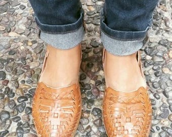 Mexican Leather Huaraches - Huaraches & Sandals - For Her