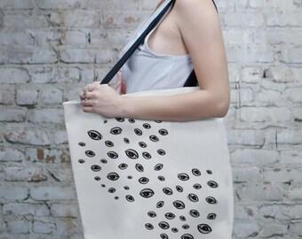 White Tote Bag, Bag, Totes, Reusable, Beach Bag, Bags, Tote Bags, Tote, Big Tote Bag, Grocery Bag, Shoulder Bag, Market Bag