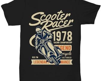 Scooter Racer 1978 T-shirt
