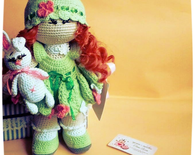 PATTERN crochet doll Interior doll Fairy doll Soft Toy Amigurumi doll Tilda doll Gift For girl Princess doll Pixy doll Digital downloads