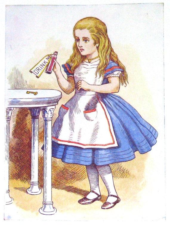 Alice In Wonderland Fabric Fabric Bundle Vintage Retro