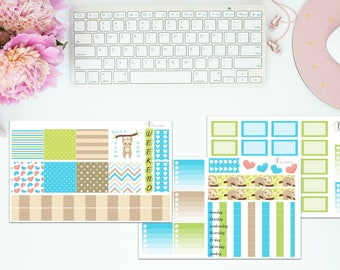 """The """"Slow Down"""" Kit for the Mini Happy Planner"""