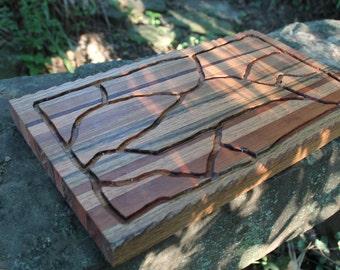 Red Oak and Cherry Cutting Board