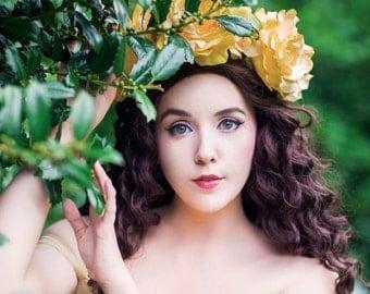 Disney Belle Flower Crown