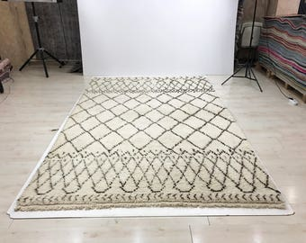 beni ourain rug moroccan rug 656 x 200 x 313 cm