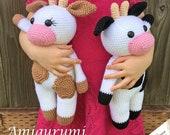 Amigurumi Cow Pattern - PDF Instant Download - Crochet
