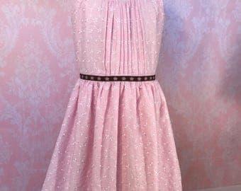 summer dress for girls. Summer dress for toddler. Dress for girls. Dress for photo shoot. Dress for baby girl. pink dress. vintage dress