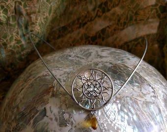 Celtic Sun Circlet - Sun Tiara