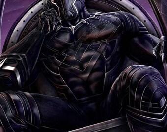 Black Panther 11x17