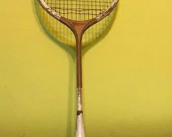 Vintage Wilson Badminton Racket