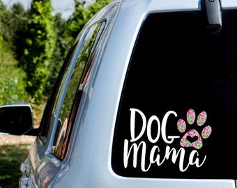 Dog Mama Decal