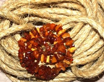 Аmber necklaces3,Antique necklace of amber,amber necklace,jewelry,Baltic amber,USSRamber,decoration,gift,genuine amber,Soviet vintage,波羅的海的