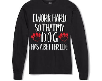 Dog Lover Shirt, Dog Shirt, dog lover gifts, Rescue Dog, gifts for him, gifts for her, holiday gift, stocking stuffer, dogs, dog lover, dog
