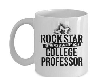 College Professor Gift Funny Coffee Mug Saying
