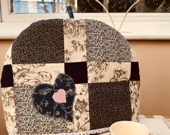 tea cosy, patchwork tea cosy, insulated and lined, free shipping