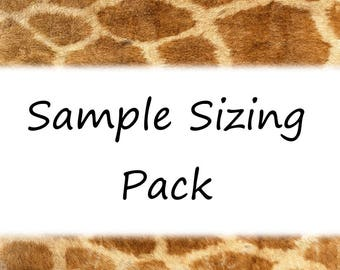 Nail Sample Sizing Pack