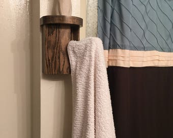 Small Shelf with hook, Double Towel Rack, towel hooks, towel drying rack, coat rack, scarf rack, umbrellas or to just display small items o