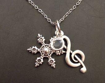 Weiss Schnee RWBY Necklace