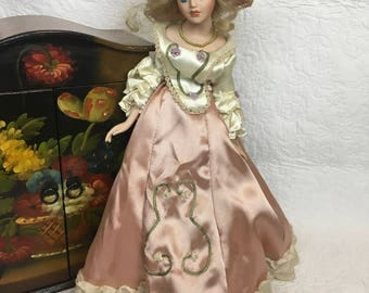 Vintage French Porcelain Doll
