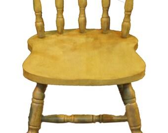 Rustic Green Farmhouse Chairs