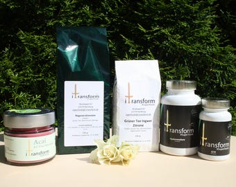 Beauty Package , Superfoods , Anti-Aging , Tea, Hyaluron , Q10