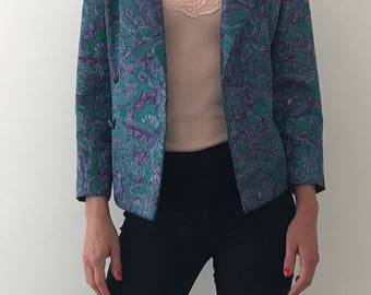 Women's Blue and Purle Blazer
