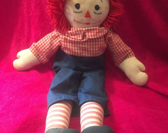 Old 1950s Raggedy Andy