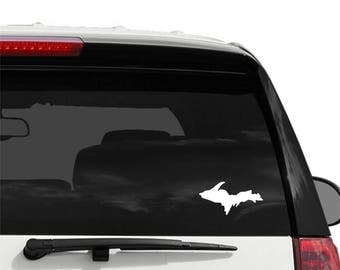 Michigan Car Decal Etsy - Vinyl window clings for cars