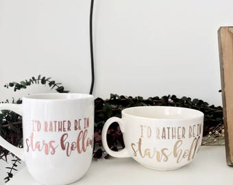 Gilmore Girls Mug - I'd Rather In Stars Hollow