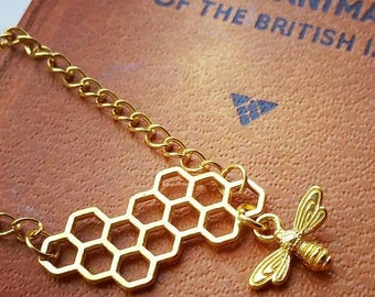 Manchester Charity Bee Necklace