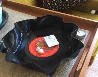 Vintage Record Bowl