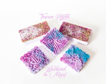 Weekedend in Maui | Tuscan Nights | Wax Melts (7.4 Oz.) - Floral and Fruit Wax Melts - Hand Poured Wax - Handmade Wax Melts - Wax Set