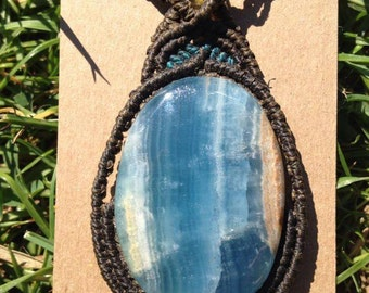 Sky Blue Onyx Necklace