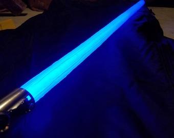 Star Wars Custom Luke Blue Black Series Force FX Lightsaber Realistic Effect Blade Cover  *Lightsaber IS NOT included* Please read