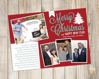 Christmas / New Year Photo Greeting Card