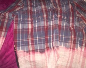 Half bleached flannel