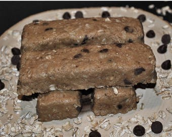 Peanut and Dark Chocolate  Protein Bars and Bites