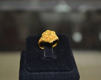 21 karat gold rings