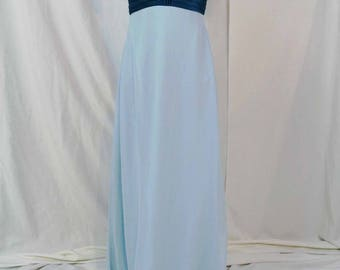 Alfred Angelo Sea Glass blue bridesmaid dress size 8