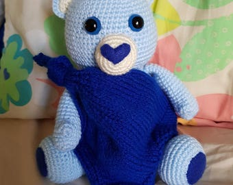 Blue Bear Gift Set for baby