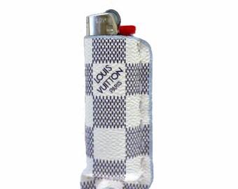 Louis Vuitton LV Bic Lighter Sleeve Holder Inspired Luxury Fashion Goyard Gucci Fendi Floral Damier