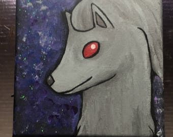 Shiny Ninetales Painting