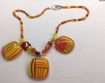 cabochon and beads