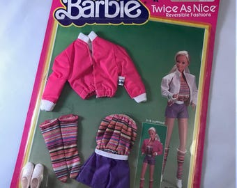 Barbie Twice As Nice Reversible Fashion / Outfit by Mattel / In & Outfitted!