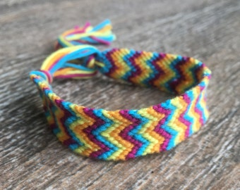 Summer Paradise Double Chevron Bracelet