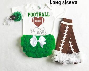 baby girl philadelphia eagles football - philadelphia eagles baby - eagles baby girl outfit - football leg warmers - eagles football baby